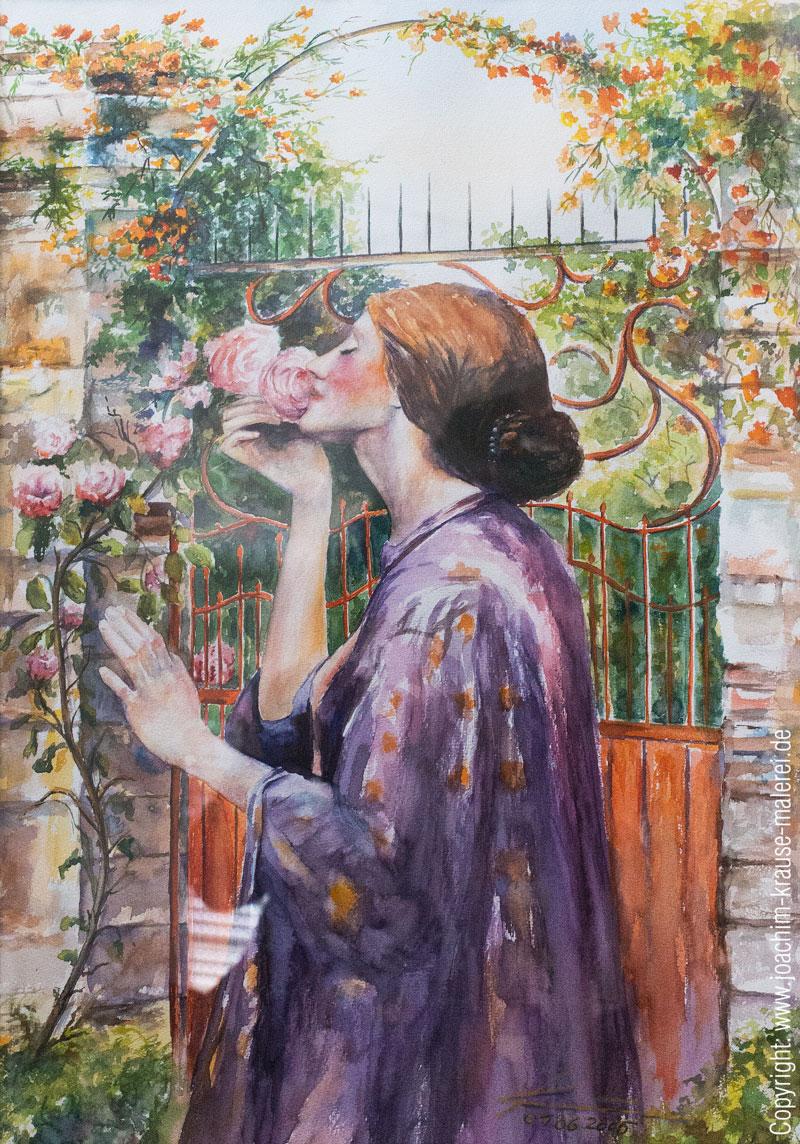 Der Rose süßer Duft
