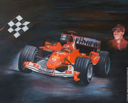 Michael Schuhmacher - ein Leben mit Leidenschaft im Ferrari