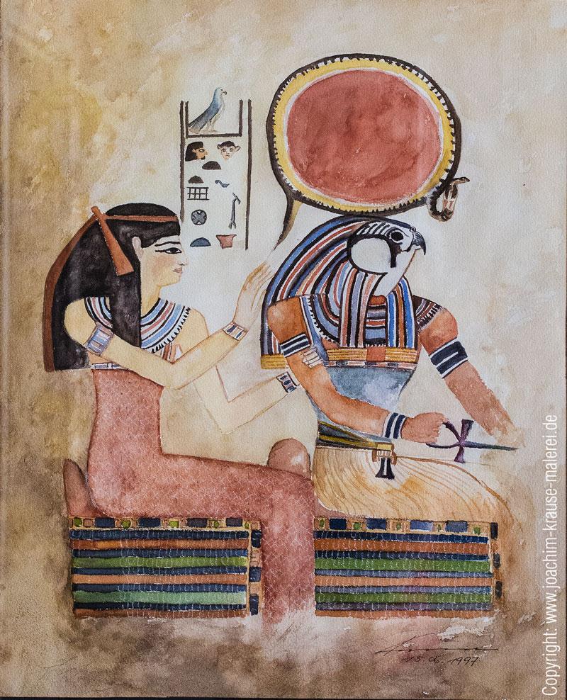 Szene aus den Königsgräbern 2
