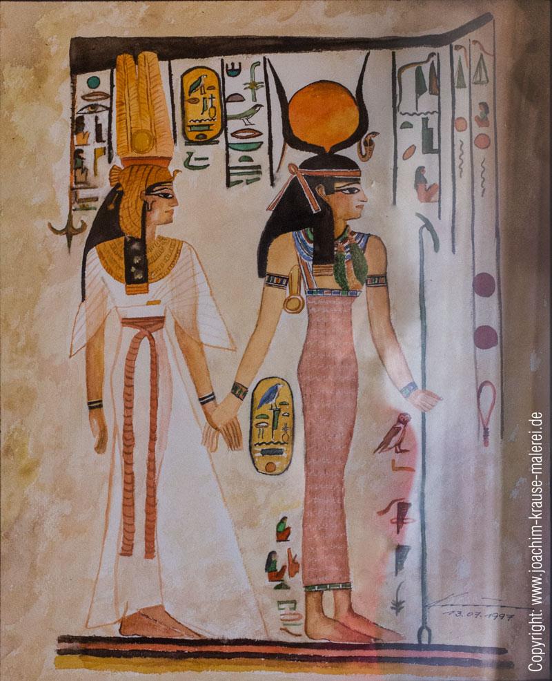 Szene aus den Königsgräbern 1