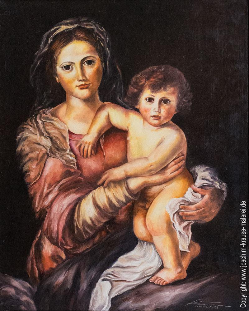 Madonna mit Jesukind
