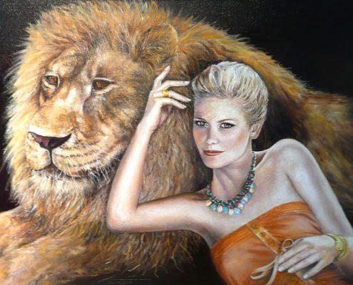 Jungfrau im Sternzeichen des Löwen