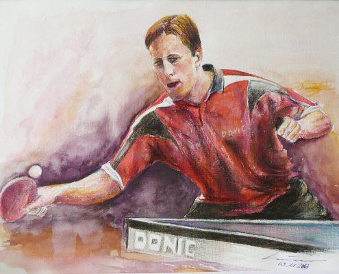 Jan-Ove Waldner Tischtennis Europa- und Weltmeister